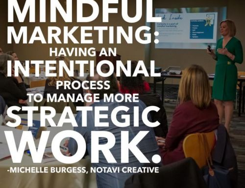 "Notavi Creative leads ""Mindful Marketing: Rooted in Strategy"" workshop in Scranton, PA"